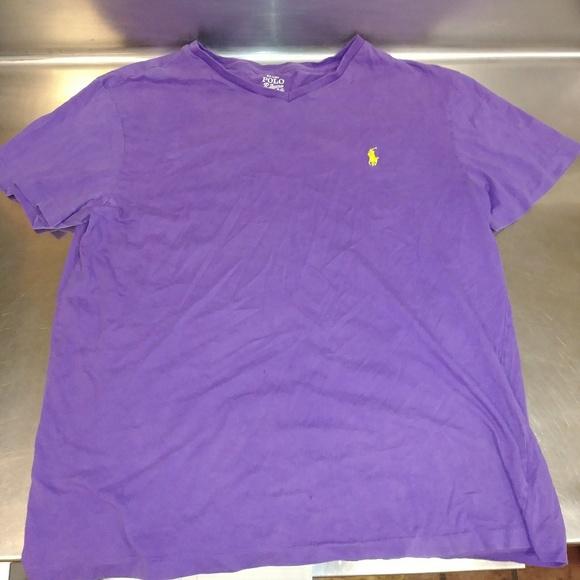 b9de4d6a1a2d Polo by Ralph Lauren Shirts | Discolored V Neck T Shirt By Ralph ...